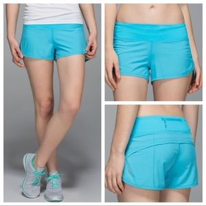 ▪️Lululemon▪️Speed Short - Fresco Blue